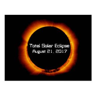 Postal Eclipse solar total 2017