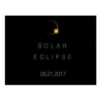 Postal Eclipse solar total americano 2017