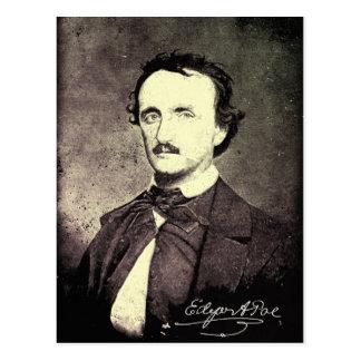 Postal Edgar Allan Poe *Restored y Refinished*