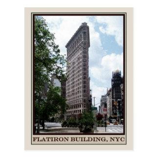 Postal Edificio de Flatiron, NYC