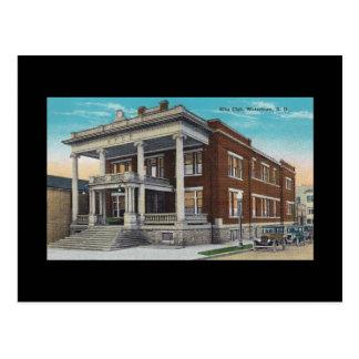 Postal Edificio de Watertown Dakota del Sur SD del club