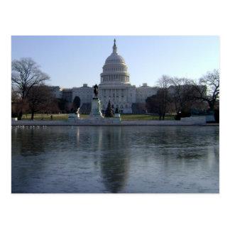 Postal Edificio del capitolio de Estados Unidos