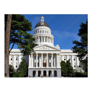 Postal Edificio del capitolio del estado de CA -