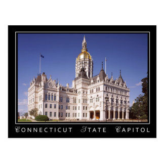 Postal Edificio del capitolio del estado de Connecticut