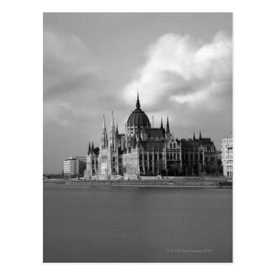 Postal Edificio húngaro del parlamento