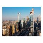 Postal Edificios a lo largo de jeque Zayed Road, Dubai