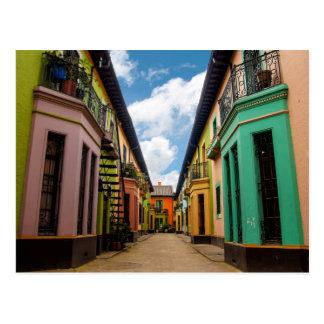 Postal Edificios coloridos históricos