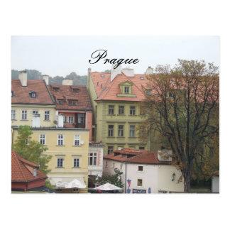 Postal Edificios hermosos de la República Checa de Praga