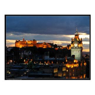 Postal Edimburgo Escocia