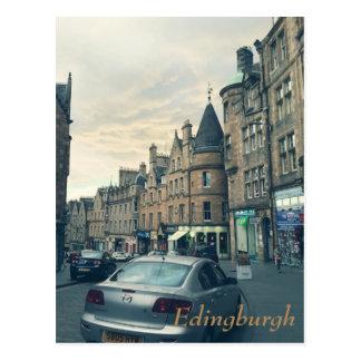 Postal Edimburgo que calma