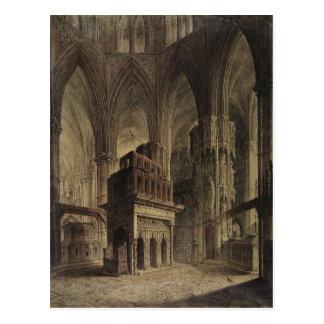 Postal Edward la capilla del confesor, abadía de