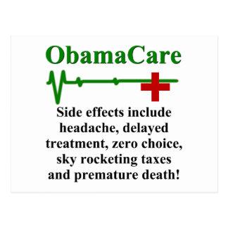 Postal Efectos secundarios de ObamaCare