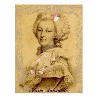 Postal Ejemplo alterado Antonieta del arte de Marie