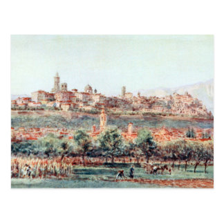 Postal Ejemplo de Bérgamo, Italia