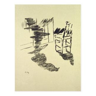 Postal Ejemplo de Manet el | para 'el Raven