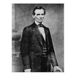 Postal El ~ 1860 del retrato de la unión del tonelero de