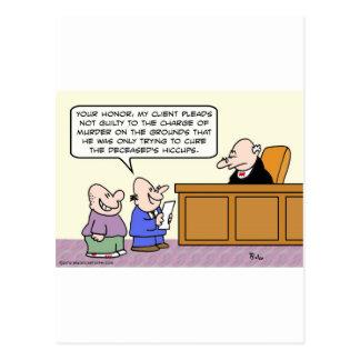 Postal El abogado dice que el asesinato era realmente