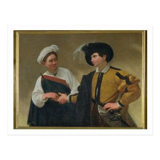 Postal El adivino (La Buona Ventura), c.1594