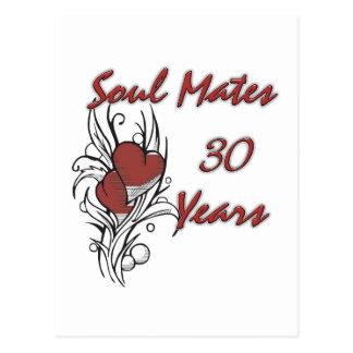 Postal El alma acopla 30 años