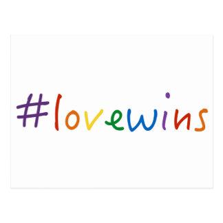 Postal el amor de los #lovewins gana orgullo de la