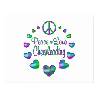 Postal El animar del amor de la paz