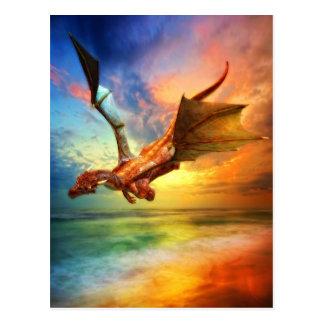 Postal El año del dragón