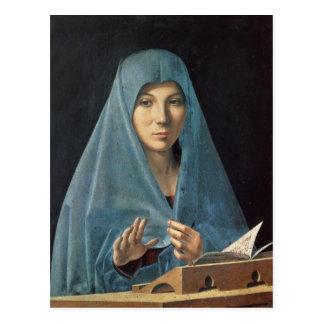 Postal El anuncio, 1474-75