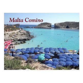 Postal El archipiélago de Malta