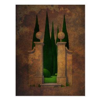 Postal El arte del jardín secreto