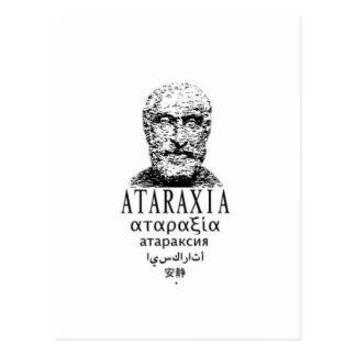 Postal El Ataraxia de Pyrrho