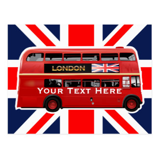 Postal El autobús de Londres