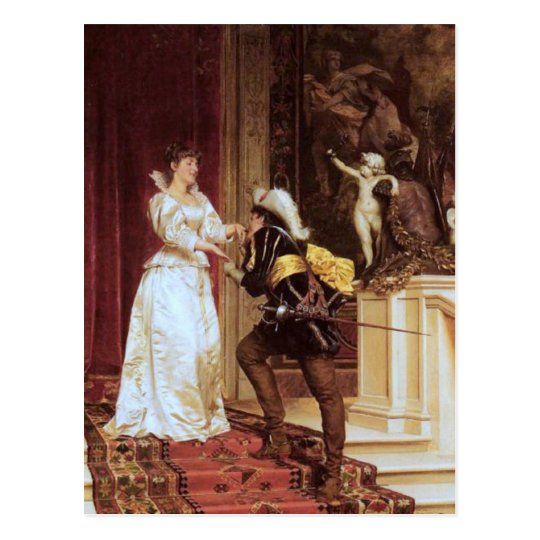Postal El beso del Cavalier - Soulacroix