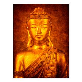 Postal El Buda de oro