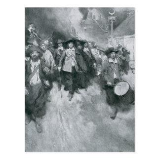 Postal El Burning de Jamestown