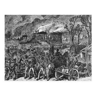 Postal El Burning de Washington, 1814