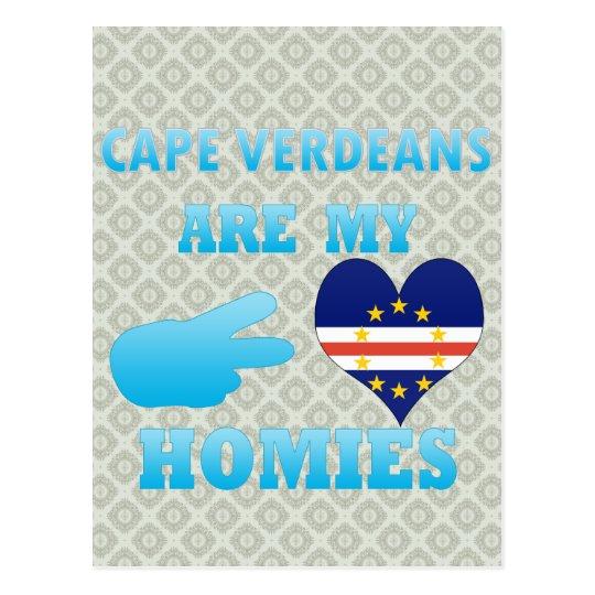 Postal El cabo Verdeans es mi Homies