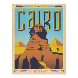 Postal El Cairo, Egipto