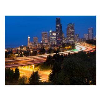 Postal El camino a Seattle