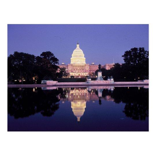 Postal El capitolio de Estados Unidos, Washington, C.C.