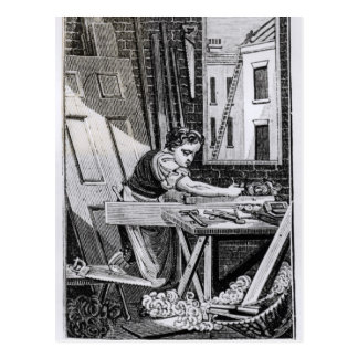 Postal El carpintero