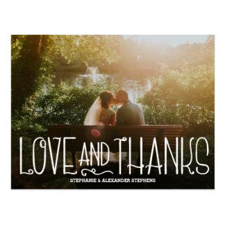 Postal El casarse delicado del amor y de las gracias le
