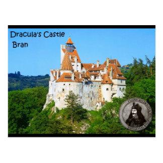 Postal El castillo de Drácula, salvado, Transylvannia