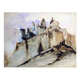 Postal El castillo francés de Vianden, 1871