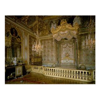 Postal El Chambre de la Reine (el dormitorio) de la reina