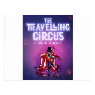 Postal El circo que viaja
