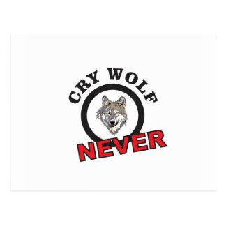 Postal el círculo nunca llora lobo