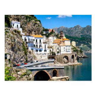 Postal El coadt de Amalfi de Italia meridional