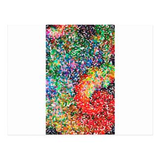 Postal el contemporáneo abstracto no colorea ningún 55