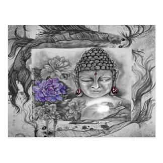 Postal El deseo de Buda