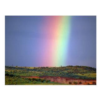 Postal El deseo del arco iris viene verdad